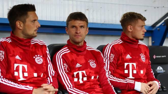 Thomas Müller ist beim FC Bayern derzeit nur Ersatz