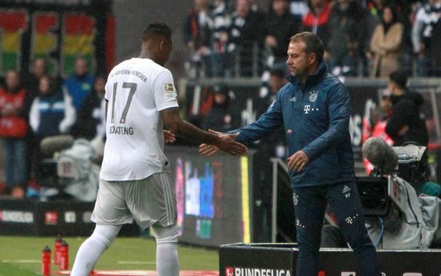 Zwei, die sich schätzen: Jérôme Boateng (l.) und Bayern-Coach Hansi Flick
