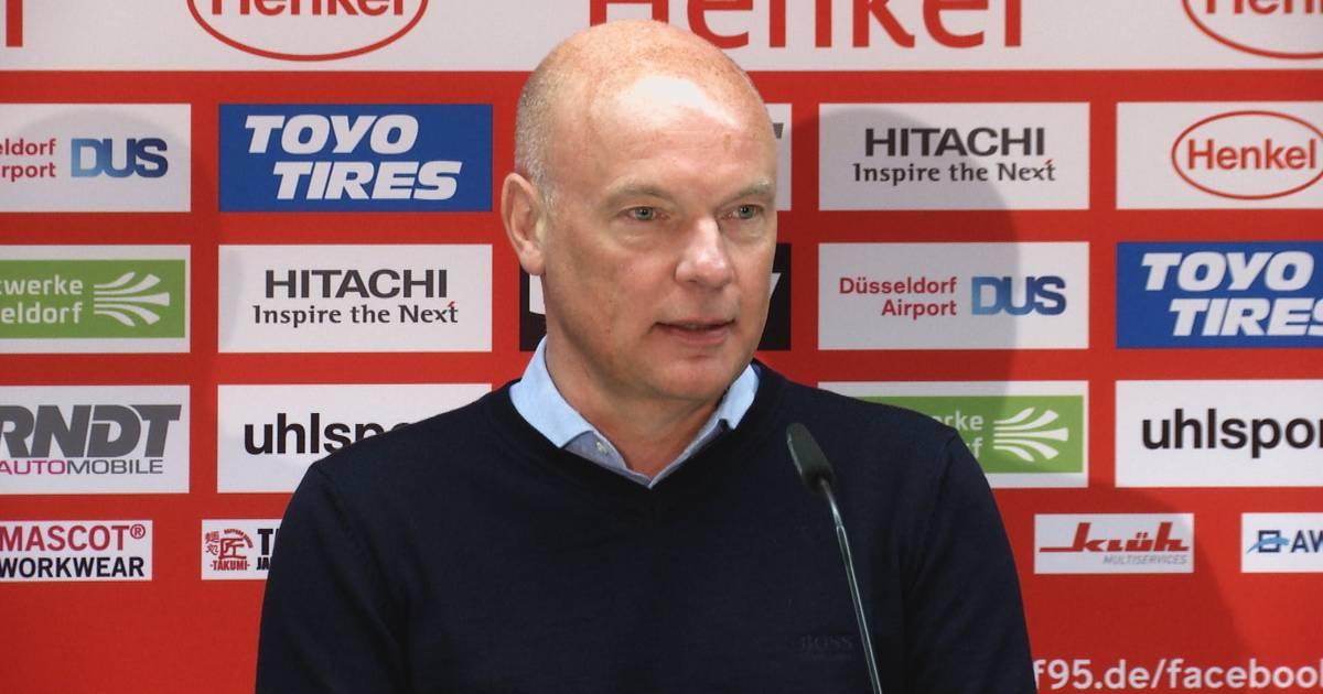 Fortuna Düsseldorf: Uwe Rösler über Abschied von Lutz Pfannenstiel