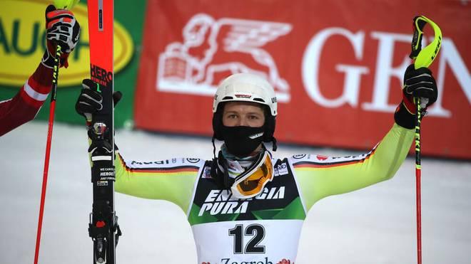 Linus Straßer gewann den Slalom in Zagreb