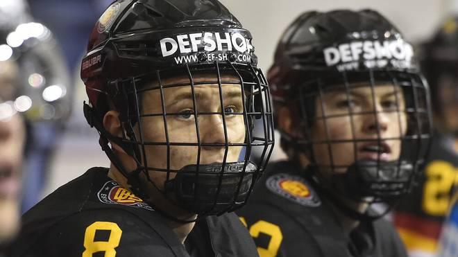 Tim Stützke (links) und Lukas Reichel sind die neuen deutschen Hoffnungen in der NHL