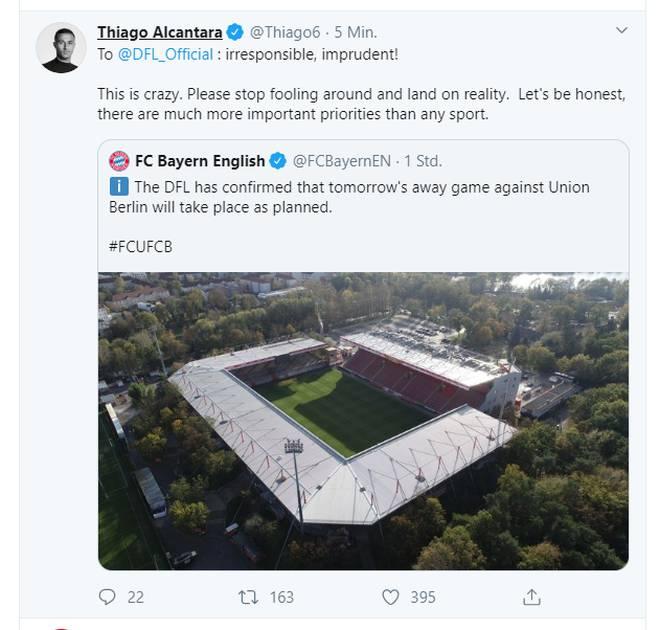 Der Tweet wurde inzwischen gelöscht und in korrigierte Form neu veröffentlicht