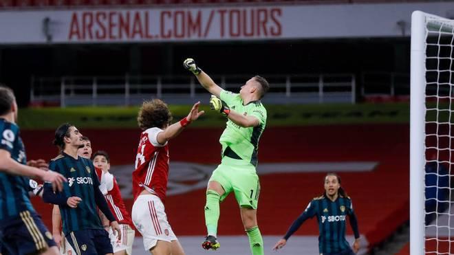 Bernd Leno stand gegen Benfica im Tor