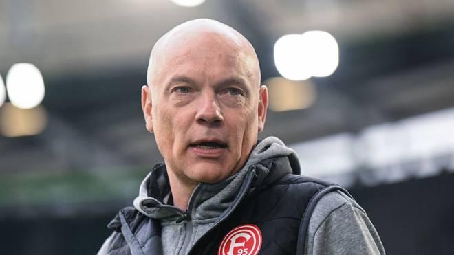 Uwe Rösler will mit der Fortuna ins DFB-Pokal-Halbfinale