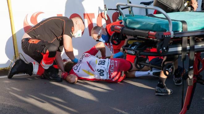Fabio Jakobsen stürzte bei der Polen-Rundfahrt nach gegnerischer Einwirkung schwer