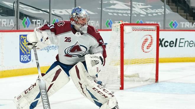 Philipp Grubauer besiegte mit den Colorado Avalanche die San Jose Sharks