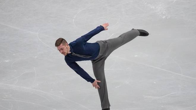 Eiskunstlauf-Meister Paul Fentz überzeugt bei den Eiskunstlauf-Europameisterschaften in Graz