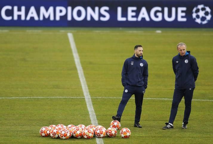 Vor dem Kracher in der Champions League gegen Englands Tabellenführer Manchester City (ab 21 Uhr im LIVETICKER) sind die Rollen klar verteilt