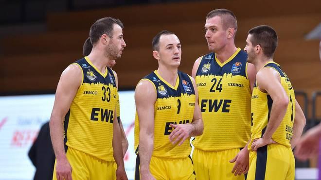 Die EWE Baskets Oldenburg treffen auf ratiopharm ulm