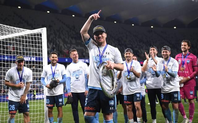 Alexander Baumjohann holte mit dem Sydney FC den Titel in der A-League