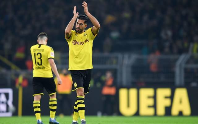 Emre Can musste gegen Frankfurt angeschlagen das Feld verlassen