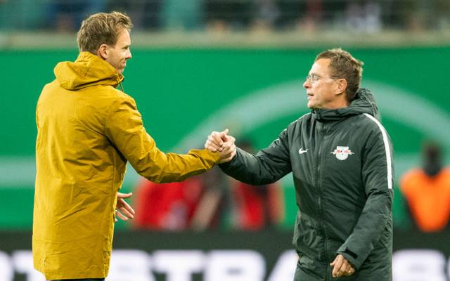 Ralf Rangnick ist von Trainer Julian Nagelsmann begeistert