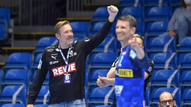 Martin Schwalb klettert mit den Rhein-Neckar Löwen auf Rang drei