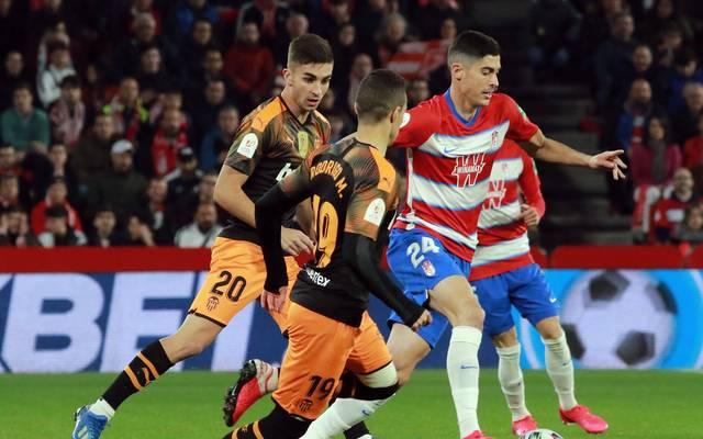 Der FC Valencia muss gegen Granada die Segel streichen
