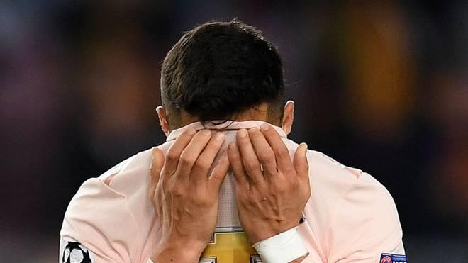 Alexis Sanchez fiel bei Manchester United ins Bodenlose