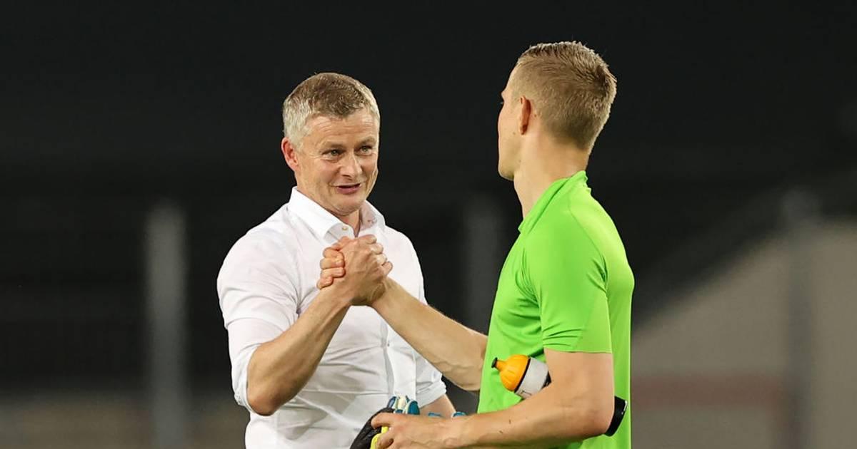 Manchester United - FC Kopenhagen 1:0, Johnsson mit Lob überschüttet