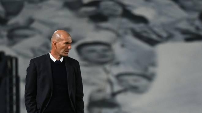 Real-Trainer Zinedine Zidane hofft auf einen Verbleib von Lionel Messi