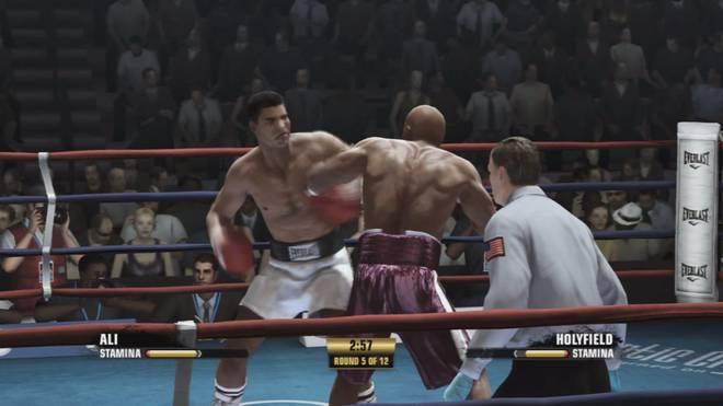 Muhammad Ali besiegte Evander Holyfield