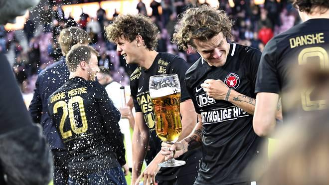 Der FC Midtjylland ist zum dritten Mal dänischer Meister