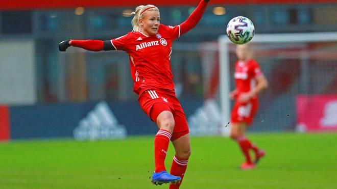 Hanna Glas und die Bayern-Frauen wollen einen guten Start in die Champions League hinlegen