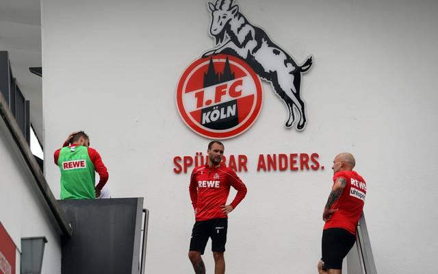 Der 1. FC Köln hat zwei neue Coronafälle in der Mannschaft