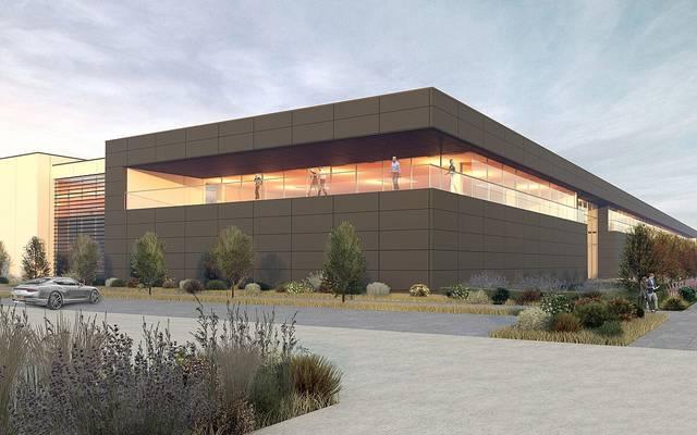 So wird die neue Fabrikhalle von Aston Martin aussehen