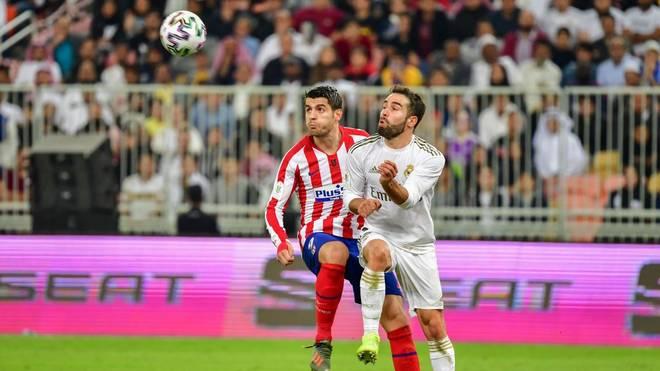 Im Hinspiel trennten sich Atlético und Real Madrid torlos