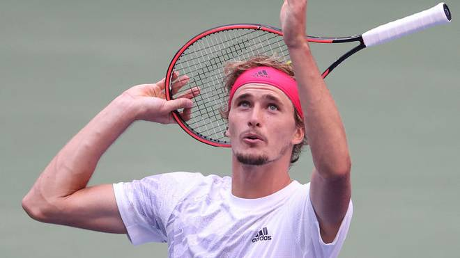 Alexander Zverev steht bei den US Open erstmals im Finale eines Grand-Slam-Turniers