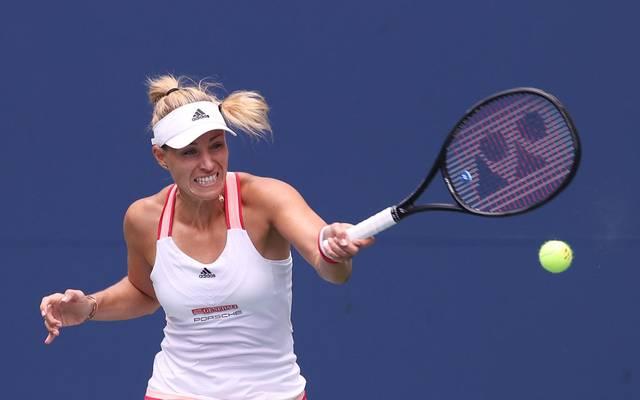 Angelique Kerber steht bei den US Open in Runde zwei