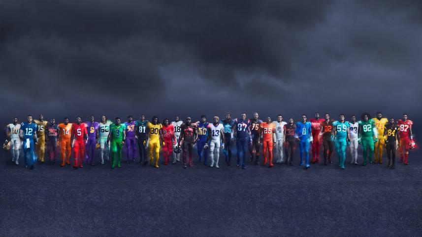 Nachdem in der vergangenen Saison acht Teams ein Color-Rush-Trikot trugen, sind in diesem Jahr alle Franchises mit einem eigenen Spezial-Outfit am Start. Getragen werden diese ausschließlich, wenn das Team am Donnerstag spielt. SPORT1 zeigt die Color-Rush-Trikots der 32 NFL-Teams:
