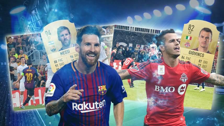 Sie begeistern die Fußballfans weltweit mit irren Flugkurven oder purer Gewalt - SPORT1 präsentiert die zehn besten Freistoss-Schützen in FIFA 19