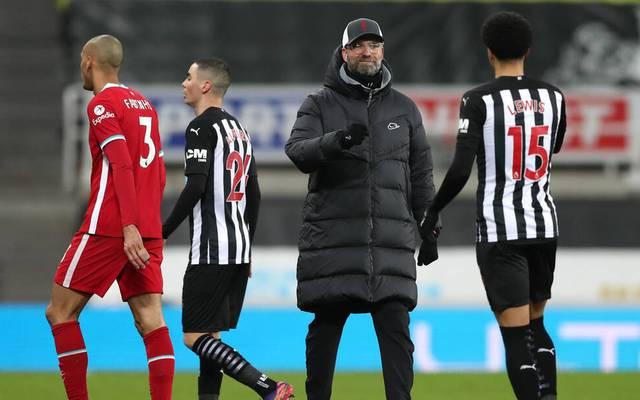 Coach Jürgen Klopp kam mit dem FC Liverpool gegen Newcastle United nicht über ein 0:0 hinaus