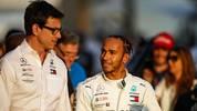 Lewis Hamilton und Toto Wolff haben beide ein Ziel: Den Vertrag des Briten bei Mercedes verlängern
