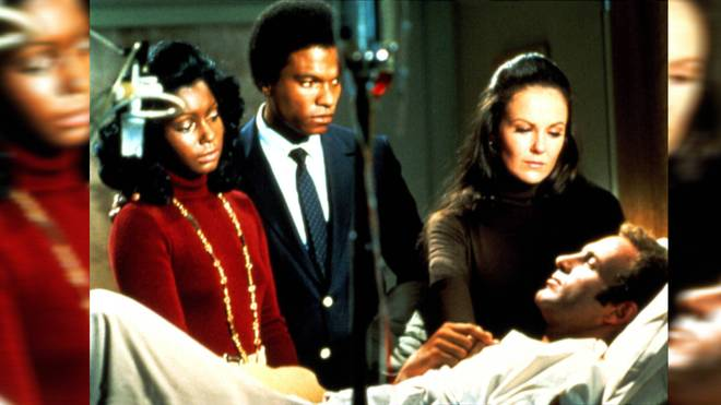 """Billy Dee Williams (2.v.l.) und James Caan in """"Brian's Song"""""""