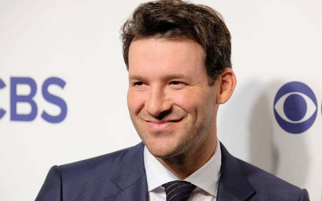 NEW YORK, NY - MAY 16:  Tony Romo attends the 2018 CBS Upfront at The Plaza Hotel on May 16, 2018 in New York City.  (Photo by Matthew Eisman/Getty Images)