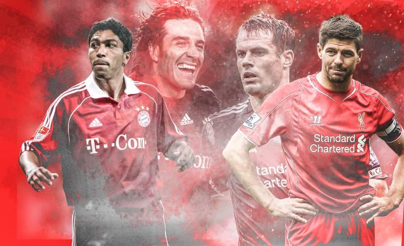 Der FC Liverpool empfängt den FC Bayern! Wenn es am Samstag an der Anfield Road zum Legendentreffen kommt (JETZT LIVE im TV auf SPORT1), sind große Namen am Start. SPORT1 zeigt, welche Stars auflaufen