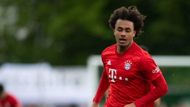 Joshua Zirkzee will mit der U19 des FC Bayern den nächsten Sieg in der Youth League einfahren