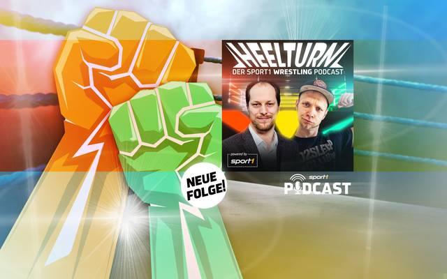 Martin Hoffmann (l.) und Marcus Hinselmann sprechen über die Brennpunkte der Wrestling-Szene