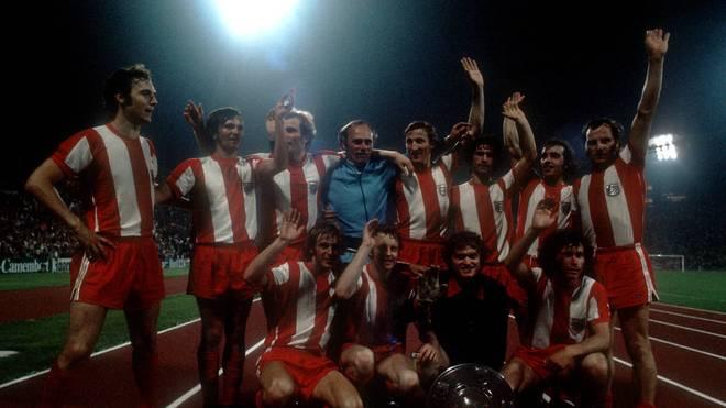 So feierte der FC Bayern den Meistertitel 1972