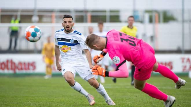 Auch Waldhof Mannheim erreichte den DFB-Pokal