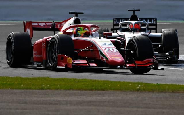 Mick Schumacher belegt im Hauptrennen in Silverstone Rang sieben