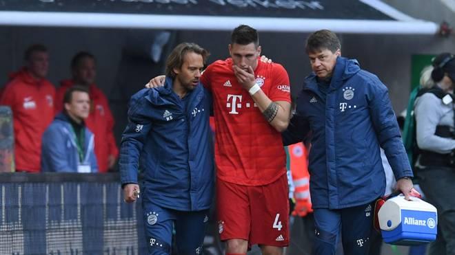 Niklas Süle hat sich gegen Augsburg das Kreuzband gerissen