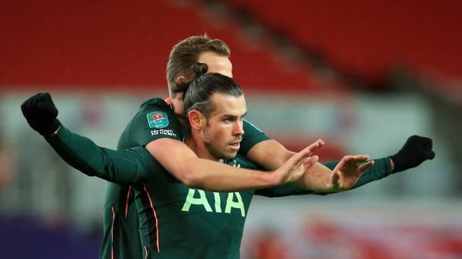 Gareth Bale ebnet für Tottenham den Weg