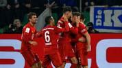 Joshua Kimmich (r.) erzielte das Tor des Tages gegen den FC Schalke 04