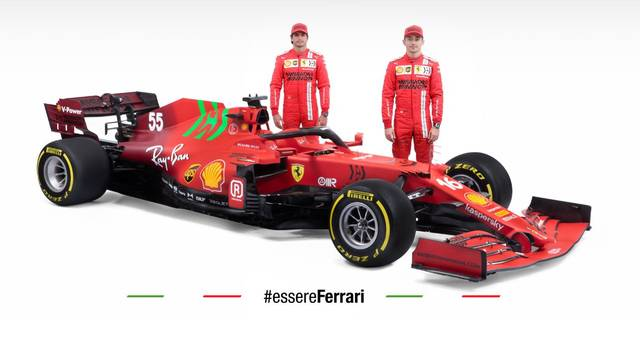 Nach dem Abgang von Sebastian Vettel bilden Charles Lecler und Carlos Sainz jr. das Ferrari-Duo