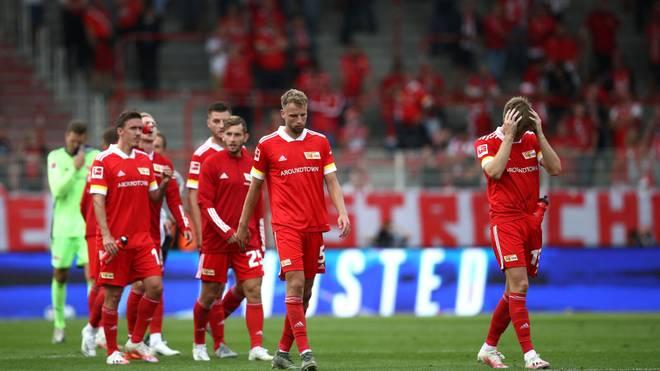 Die Spieler von Union Berlin starten mit einer Enttäuschung in die neue Saison