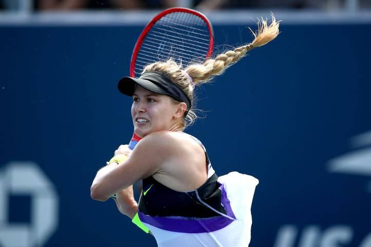 Pech im Spiel, Glück in der Liebe: Für Eugenie Bouchard läuft es auf dem Tennisplatz in diesen Wochen nicht rund. Zwölf Spiele in Folge hat die Kanadierin verloren, in der Weltrangliste ist sie bis auf Platz 151 abgerutscht