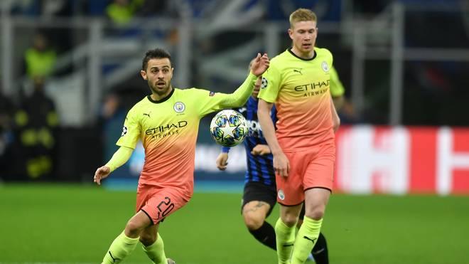 Der FC Barcelona soll Interesse an Bernardo Silva (l.) haben