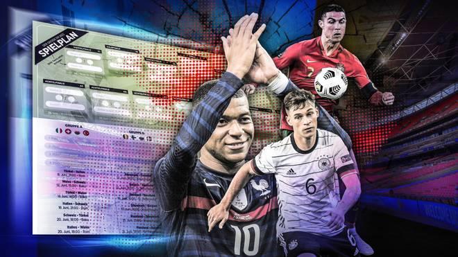 Fußball-EM 2021 - Spielplan