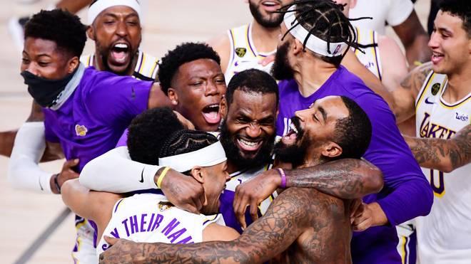 Die Los Angeles Lakers sind zum 17. Mal NBA-Champion